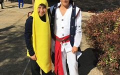 Students show Halloween spirit by wearing costumes