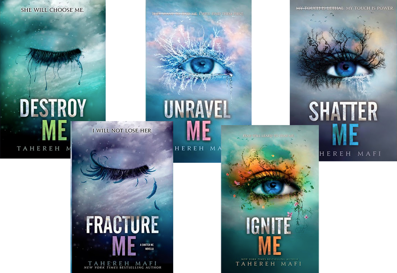 Image result for shatter me series transparent