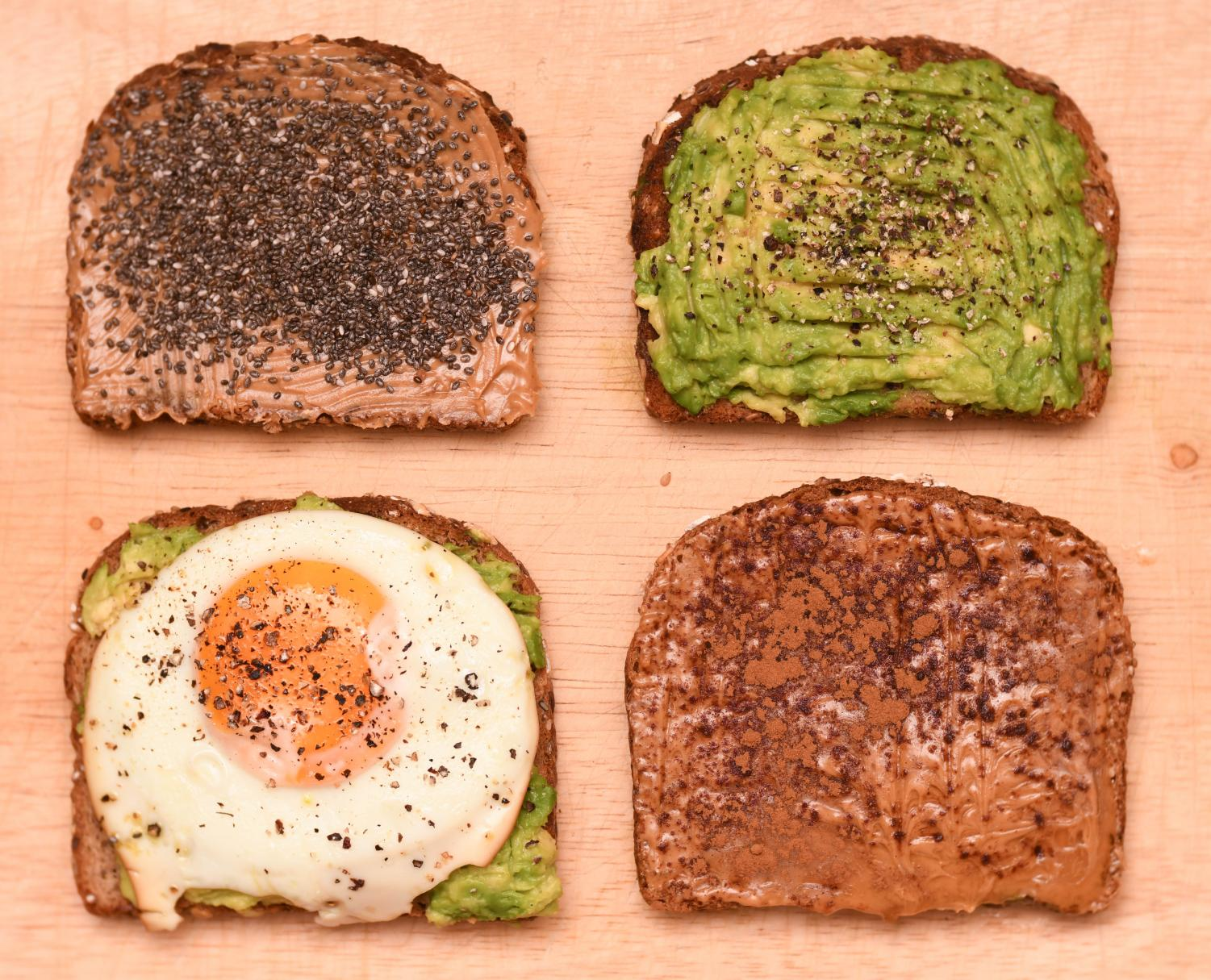 These four fast toasts will make your morning brighter.