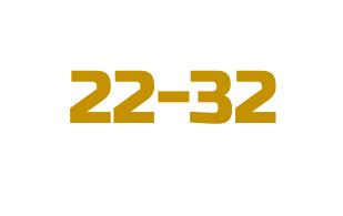 #22-32