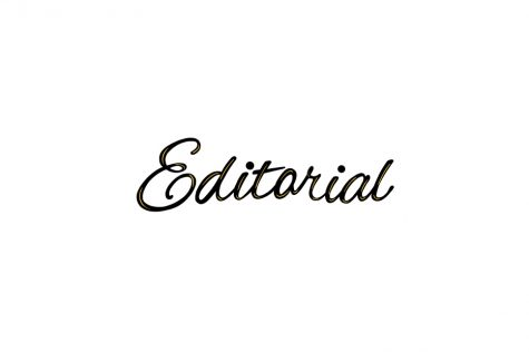 Editorial: Telling Our Own Stories