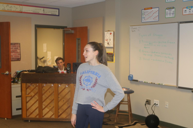 Angelina David sings