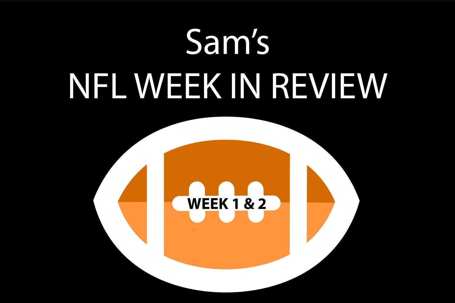 Reporter Sam Kuykendall breaks down NFL games from weeks one and two.