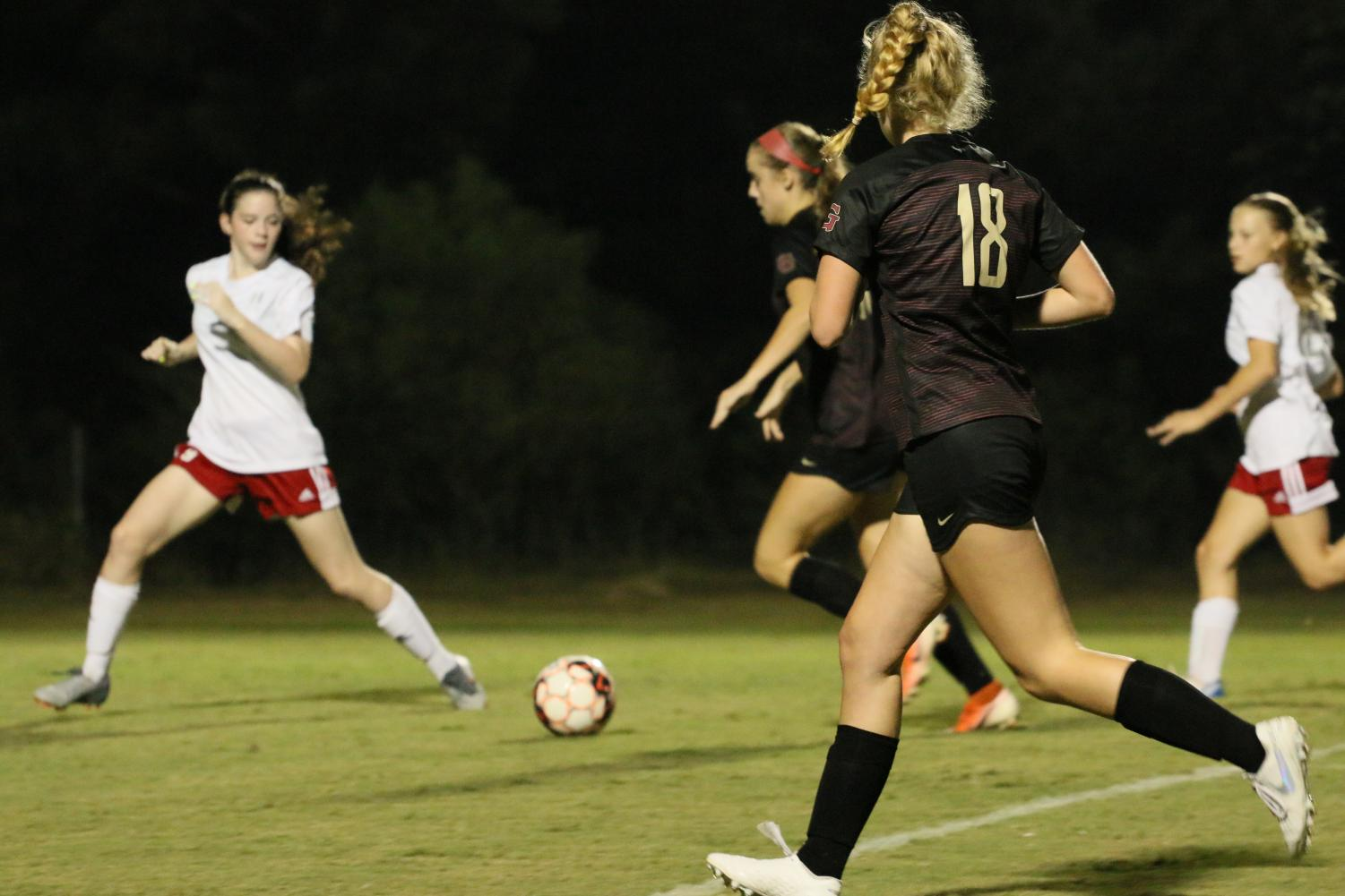The St. George's Varsity Girls Soccer Team played Harding Academy on Tuesday, Sept. 17, 2019. The U.S. Women's National Team is fighting to ensure gender equality in and out of athletics for current and future generations.