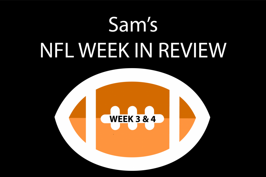 Reporter+Sam+Kuykendall+breaks+down+NFL+games+from+weeks+three+and+four.