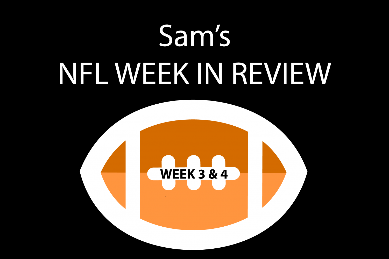 Reporter Sam Kuykendall breaks down NFL games from weeks three and four.