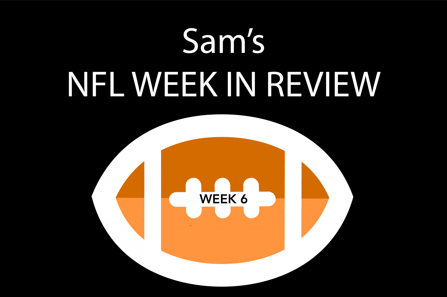 Reporter Sam Kuykendall breaks down NFL games from week six.