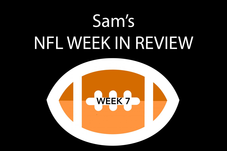 Reporter Sam Kuykendall breaks down NFL games from week seven.