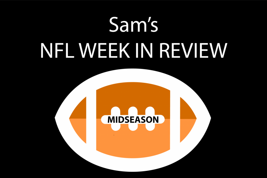 Sam's NFL Week in Review: Midseason