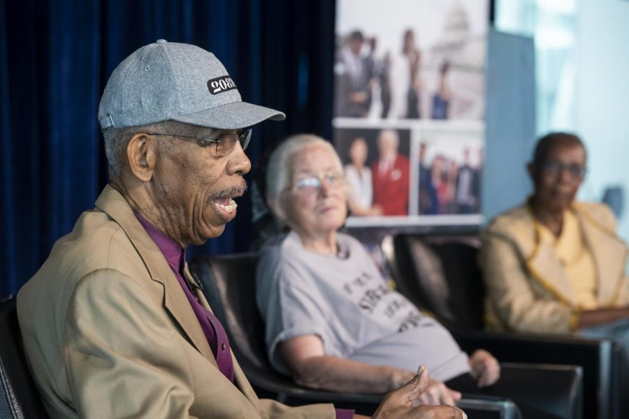 Dr. Ernest RIP Patton speaks at the Al Neuharth Free Spirit Conference in the summer '19. He talked about being a freedom rider in the 1960s.