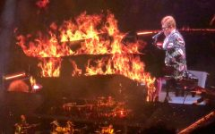 Elton John is STILL on Fire