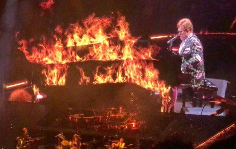 Elton John is STILL on Fire