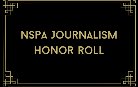 Journalism Honor Roll, for the National Scholastic Press Association 2021