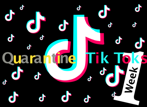 A recreation of the Tik Tok logo in reference to Keiara
