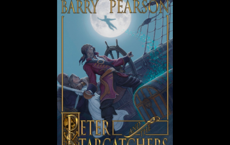 The cover art for Peter and the Starcatchers, a novel by Dave Barry and Ridley Pearson.