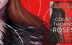 "The cover art for Sarah J. Maas' ""A Court of Thorns and Roses."" The book came out in May of 2017."