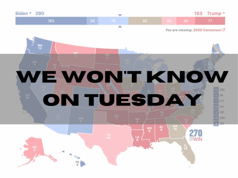Uncertainty surrounds the 2020 election. Map via 270towin.com