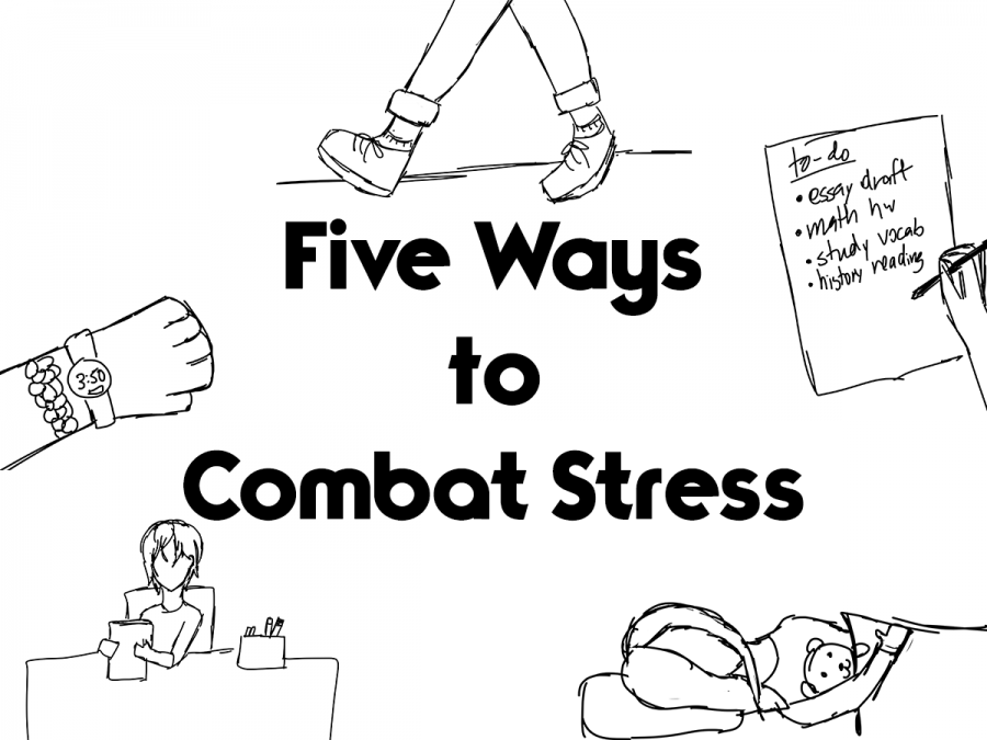 Five Ways to Combat Stress