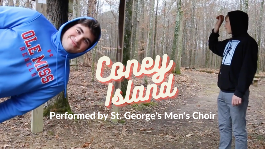 """""""Coney Island"""" Performed by SGIS Men"""