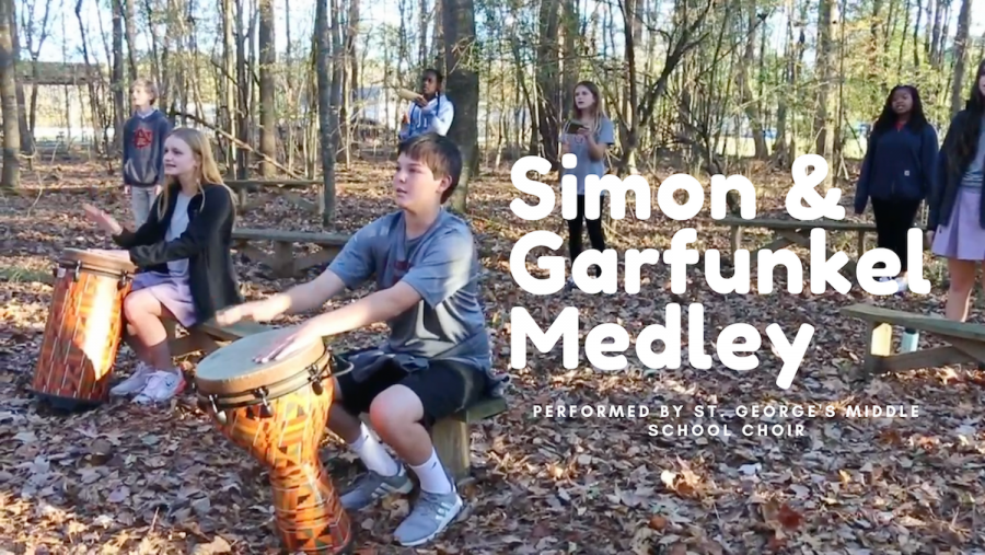 SGIS Middle School Choir: Simon and Garfunkel Medley