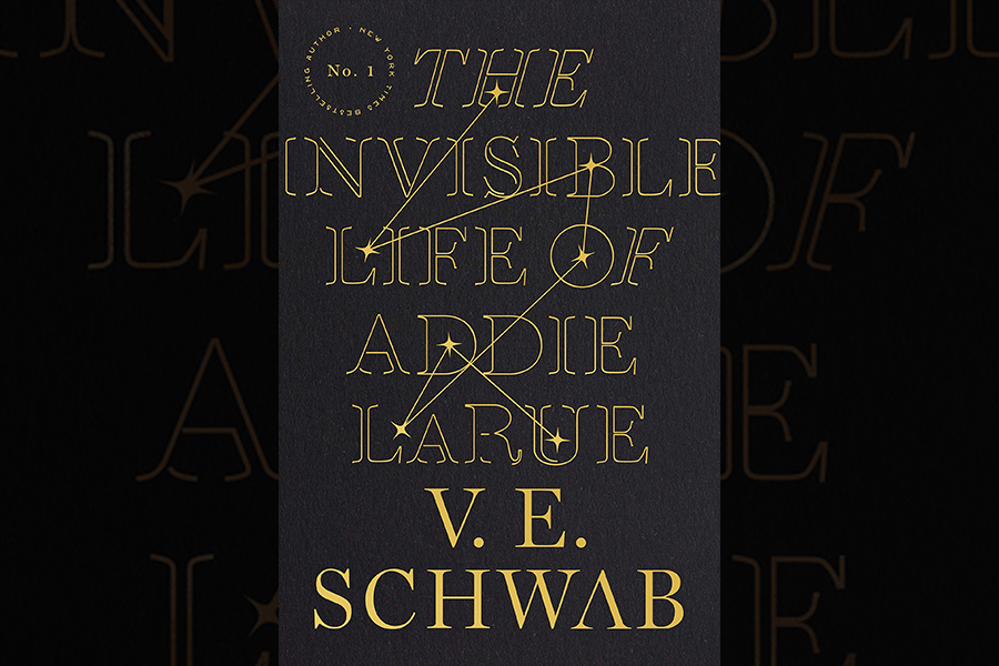 The cover for V. E. Schwabs The Invisible Life of Addie LaRue.